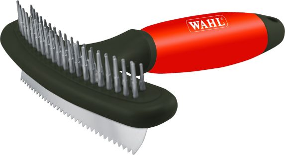 Wahl Double Row Rake with Shedding Blade