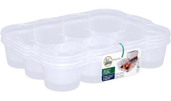 500 mL Jar Box, 12-pk Product image