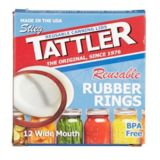 Tattler Reusable Wide Canning Lids, 12-pk | Tattlernull