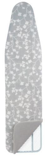 For Living Premium Reversible Patterned Ironing Pad and Cover, Grey