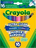 Crayola Ultra-Clean Markers, 16-pk | Crayolanull