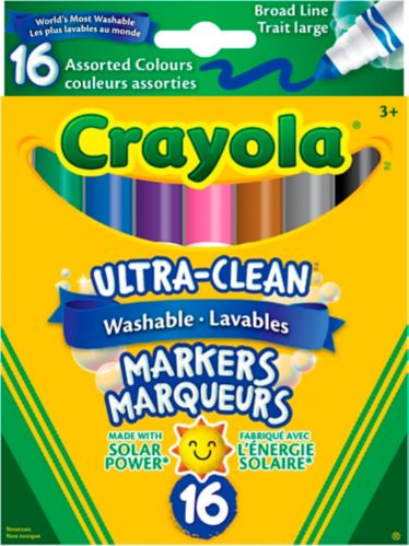 Crayola Ultra-Clean Markers, 16-pk Product image