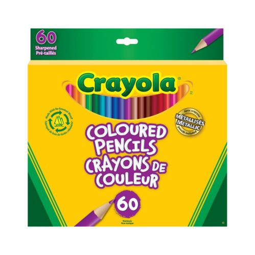 Crayola Coloured Pencil Crayons, 60-pk Product image