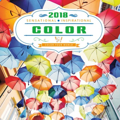 2018 Color Your World Wall Calendar, 16-Month Product image
