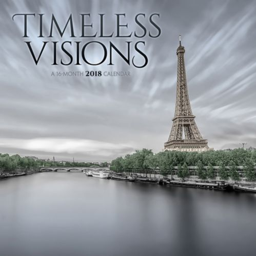 2018 Timeless Visions Wall Calendar, 16-Month Product image