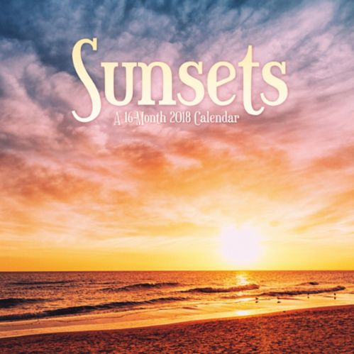 2018 Sunsets Wall Calendar Product image