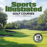 Calendrier mural 2018 Sports Illustrated, terrains de golf | Dateworksnull