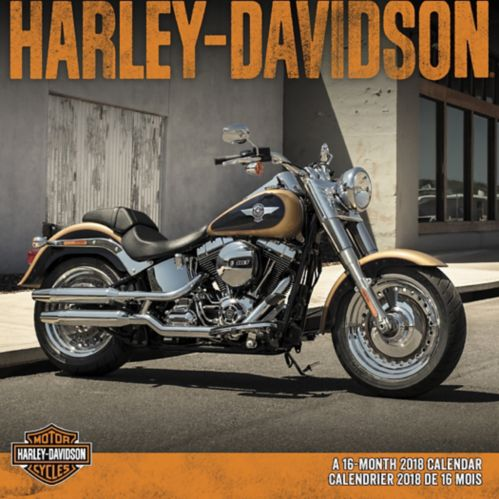 2018 Harley Davidson Wall Calendar Product image