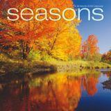 Calendrier mural 2018, saisons | Dateworksnull