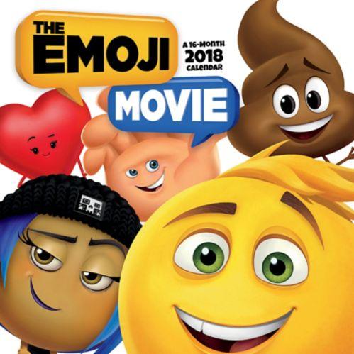 2018 Emoji Movie Wall Calendar Product image