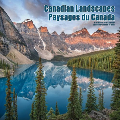 Calendrier mural 2018, paysages canadiens Image de l'article
