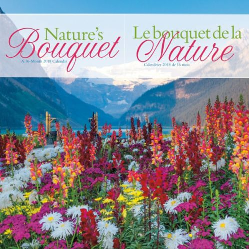 2018 Nature's Bouquet Wall Calendar Product image