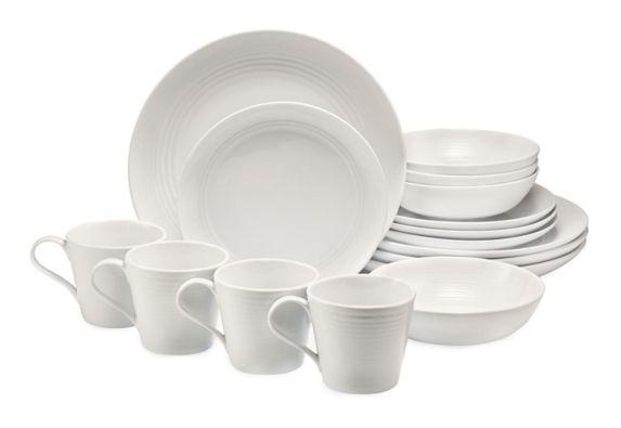 Lagostina Pavia Dinnerware Set, 16-pc