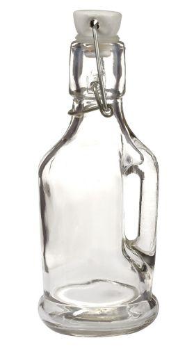 Bouteille en verre avec couvercle rabattable Image de l'article