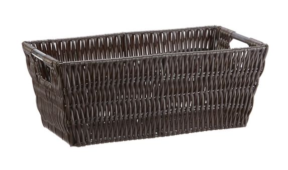 Rattique Shelf Basket, Small Product image