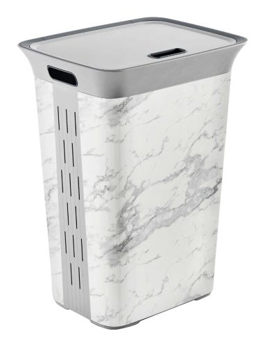 type A Marble Design Laundry Hamper Product image