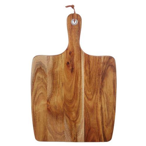 Grande palette de service CANVAS, bois d'acacia
