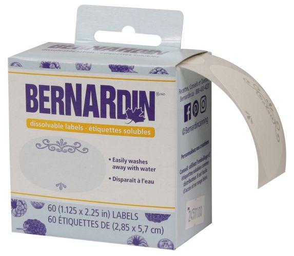 Bernardin Dissolvable Labels, 60-pk Product image