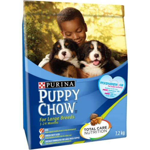 Purina® Puppy Chow® Puppy Food for Large Breeds, 7.2-kg