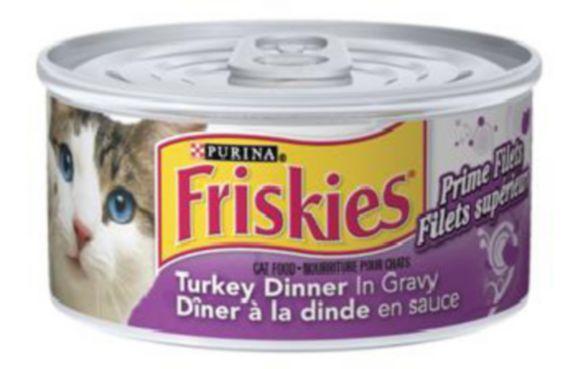 Nourriture humide pour chats Purina Friskies, 156 g Image de l'article