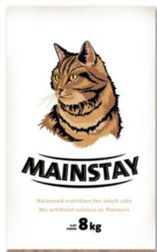 Mainstay Dry Cat Food, 8-kg