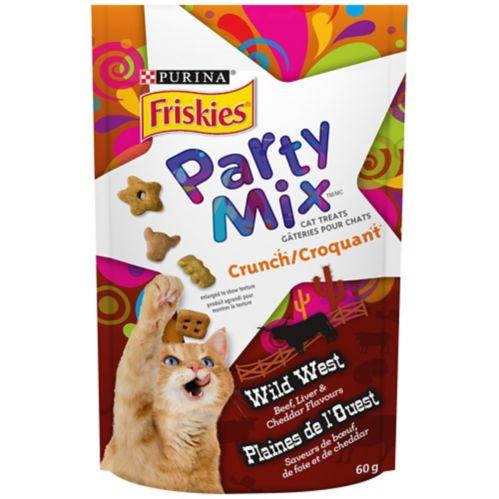 Purina Friskies Party Mix Cat Treats, 60g Product image