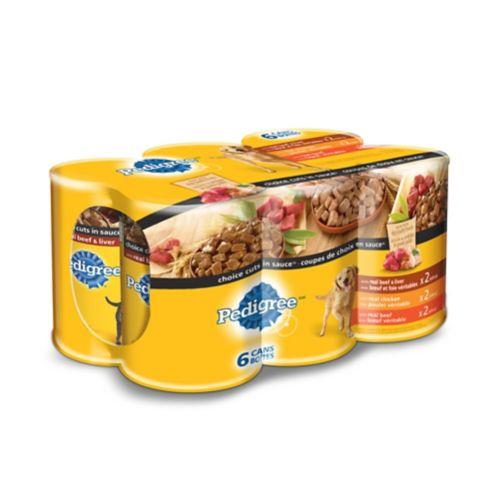 Nourriture humide Healthy Vitality Pedigree chien, paq. 6 Image de l'article