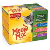Nourriture humide pour chats Meow Mix Market Select, saveurs variées, paq. 24 | Meow Mixnull