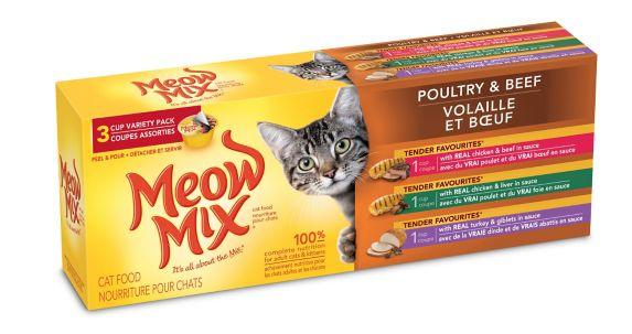 Repas pour chat Meow Mix Market, paq. 3 Image de l'article