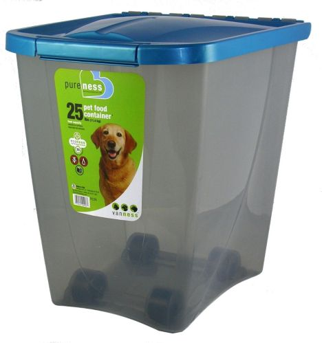 Pet Food Container, 25-lb