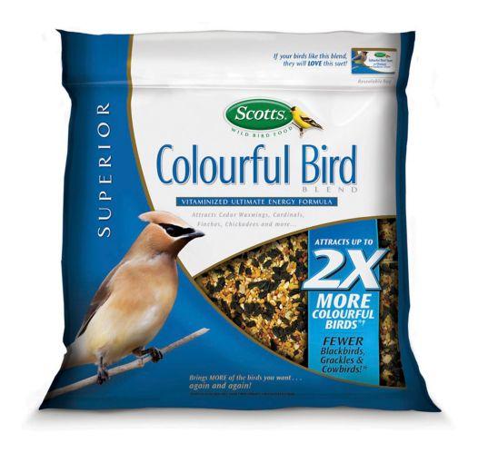 Graines pour oiseaux Scotts, oiseaux aux couleurs vives Image de l'article