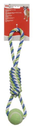 Spiral Dog Tug Toy, 18-in