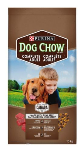 Purina Dog Chow, Beef, 15-kg Product image