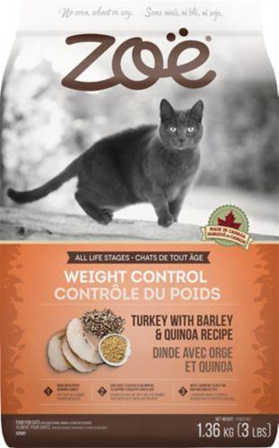 Nourriture sèche pour chats Zoë Contrôle du poids, 1,3 kg Image de l'article
