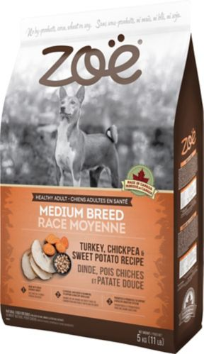 Zoe Medium Breed Dog Food, Turkey, 5-kg Product image