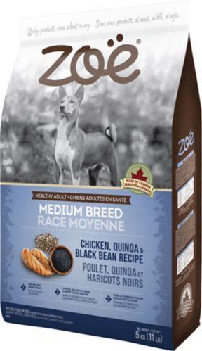 Zoe Medium Breed Dog Food, Chicken, 5-kg
