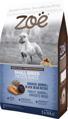 Nourriture pour chiens Zoe, petite taille, poulet, 2 kg Image de l'article