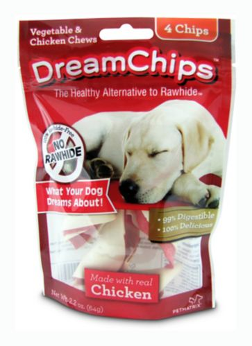 Gâteries DreamChips, légumes et poulet, paq. 4 Image de l'article