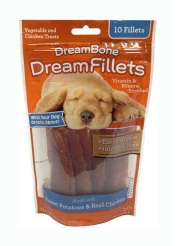 Gâteries DreamFillets, patates douces et poulet, paq. 10 Image de l'article