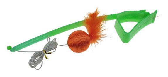 PAWS UP! Jouet muni de pinces, aux couleurs vives, pour chat Image de l'article