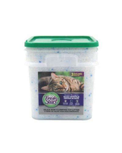 Litière pour chats Fresh Start avec silice, 12 lb Image de l'article