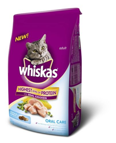 Whiskas Oral Care Dry Cat Food, 3-kg Product image