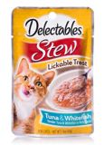 Delectable Stew Tuna and Whitefish, 40-g | Hartznull