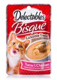 Delectable Bisque Chicken and Tuna, 40-g | Hartznull