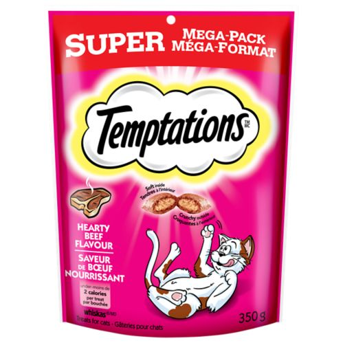 Temptations Beef Treats, 350-g Product image