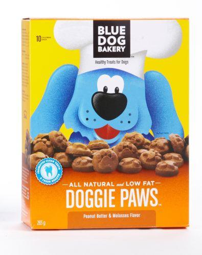 Gâteries Blue Dog Bakery Doggie Paws, beurre d'arachide, 283 Image de l'article