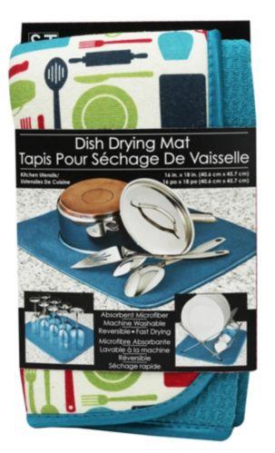 Tapis pour sécher la vaisselle à motif s&t Image de l'article