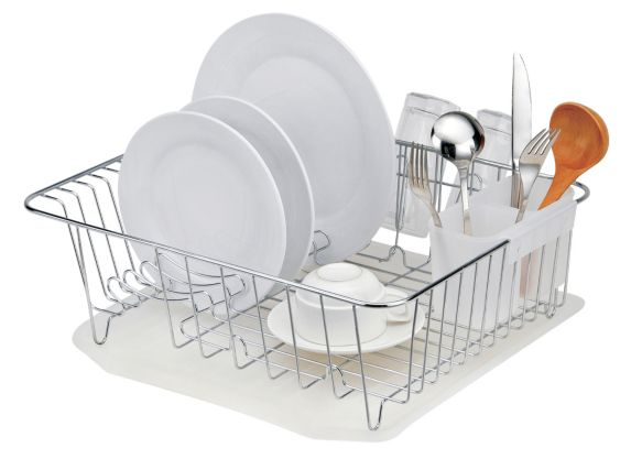 For Living Chrome Dish Rack Product image