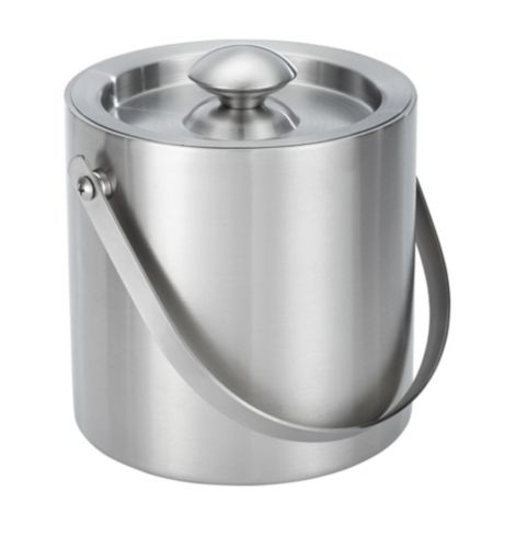 For Living Stainless Steel Ice Bucket, 2-L