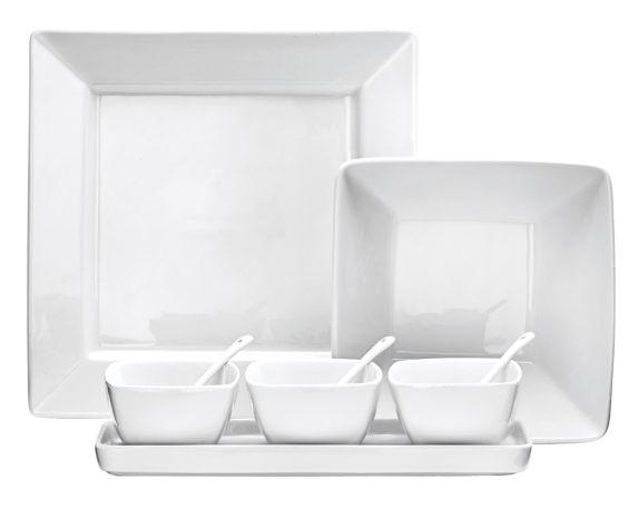 CANVAS Porcelain Serving Set, 9-pc Product image